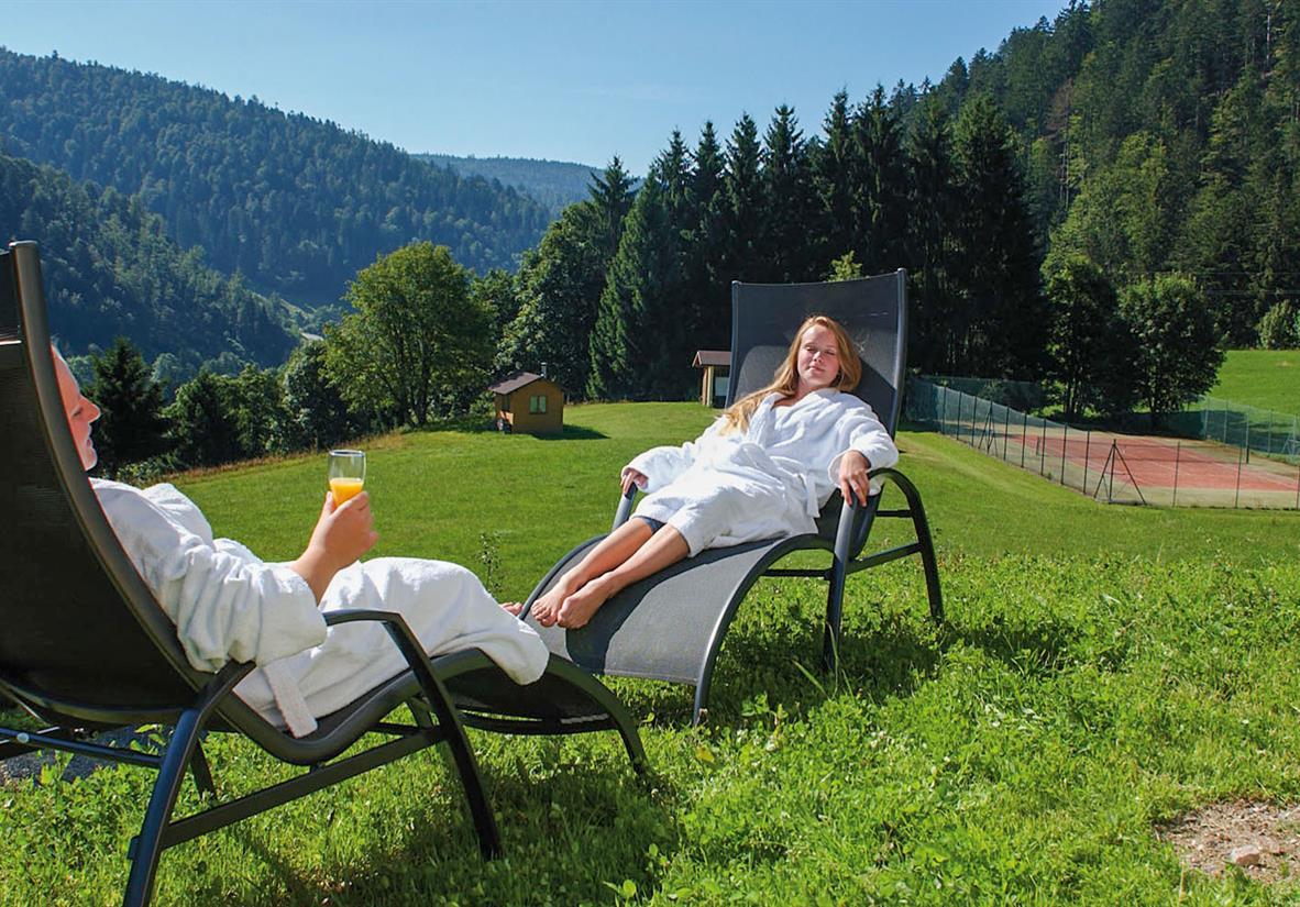 Wandern und Wellness im Schwarzwald