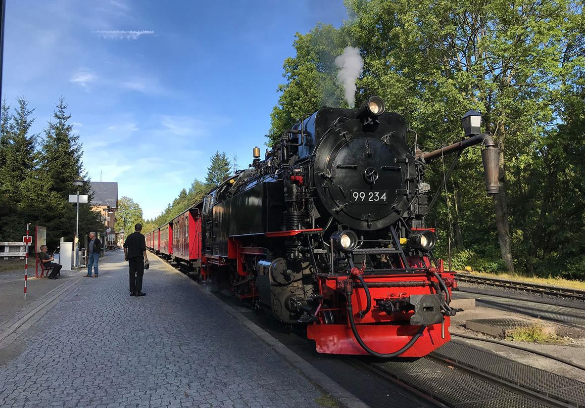 Brockenbahn Bahnhof in Drei Annen Hohne