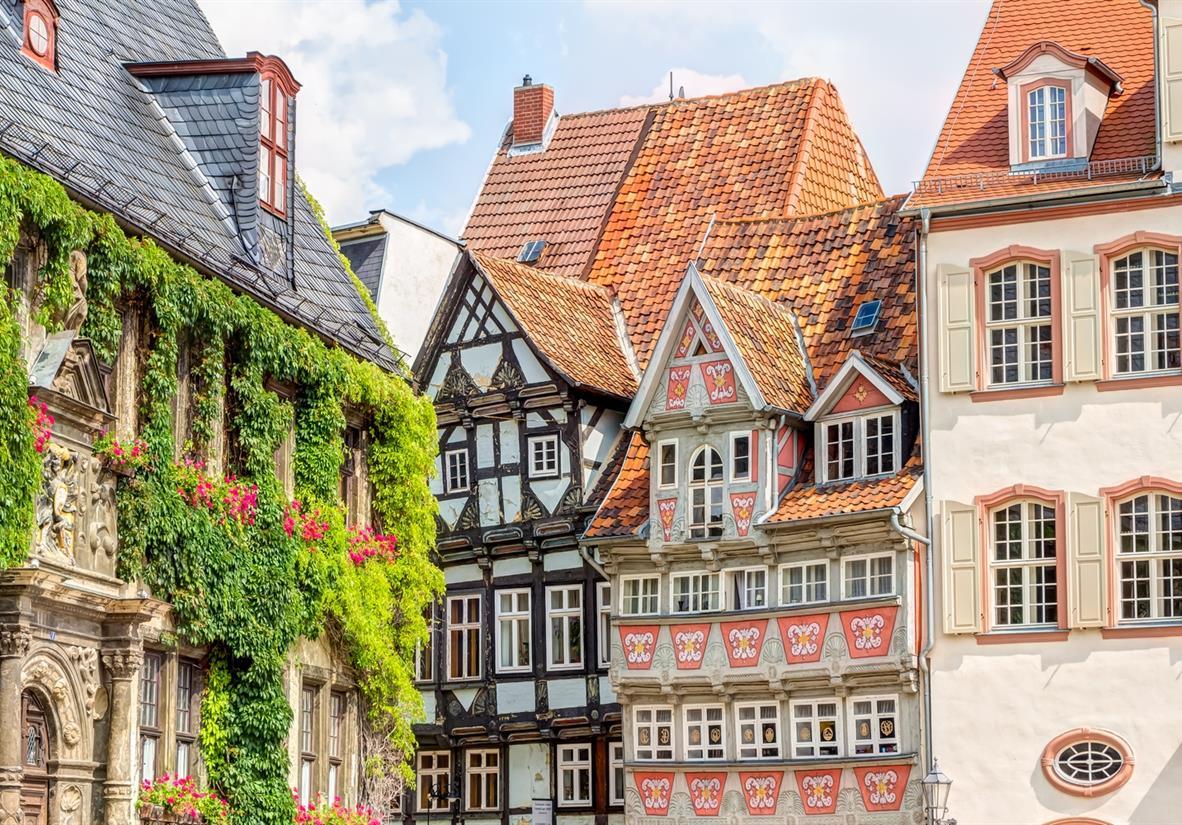 The beautiful buildings of Quedlinburg