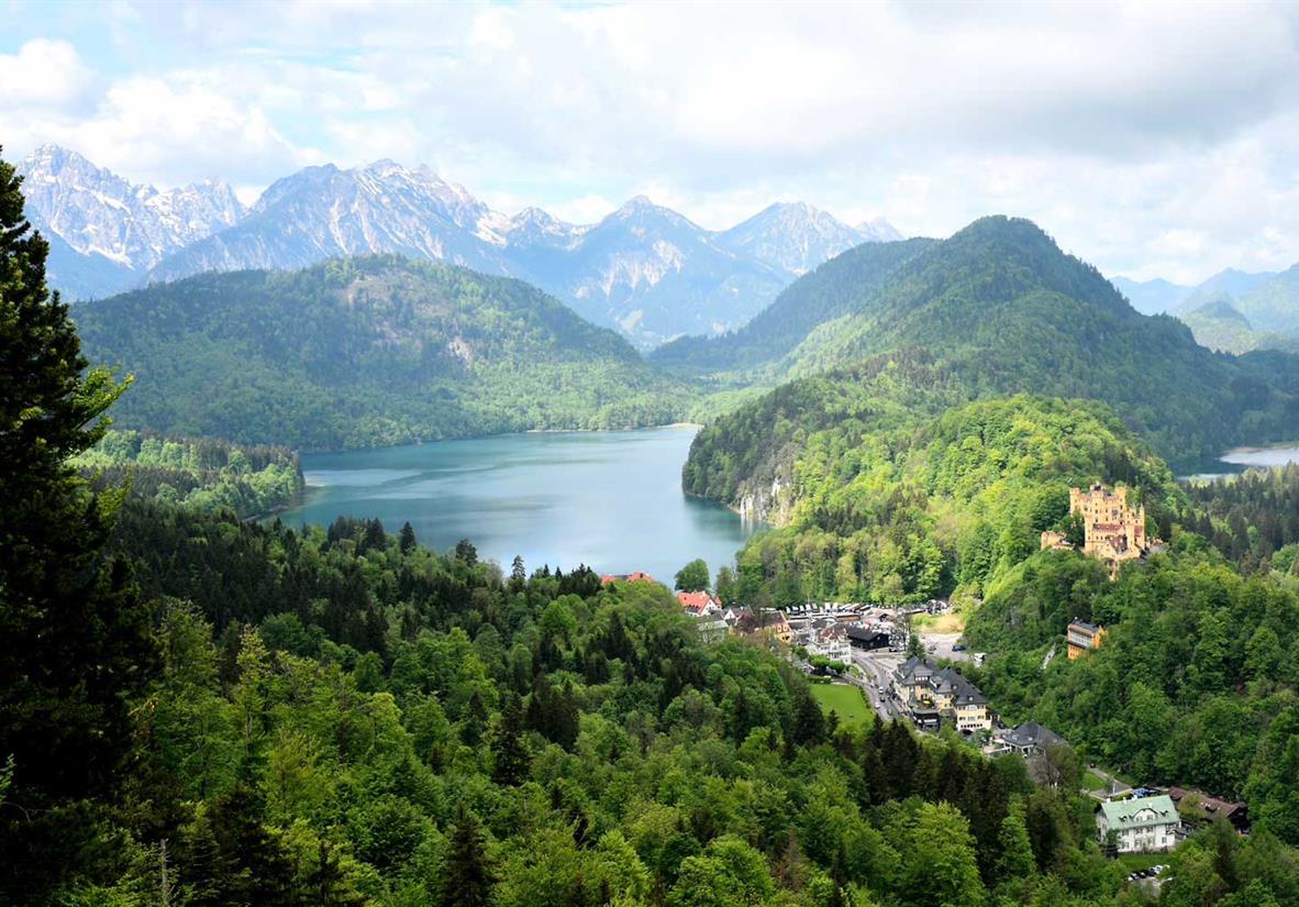 Von Starnberg nach Füssen auf dem König-Ludwig-Weg
