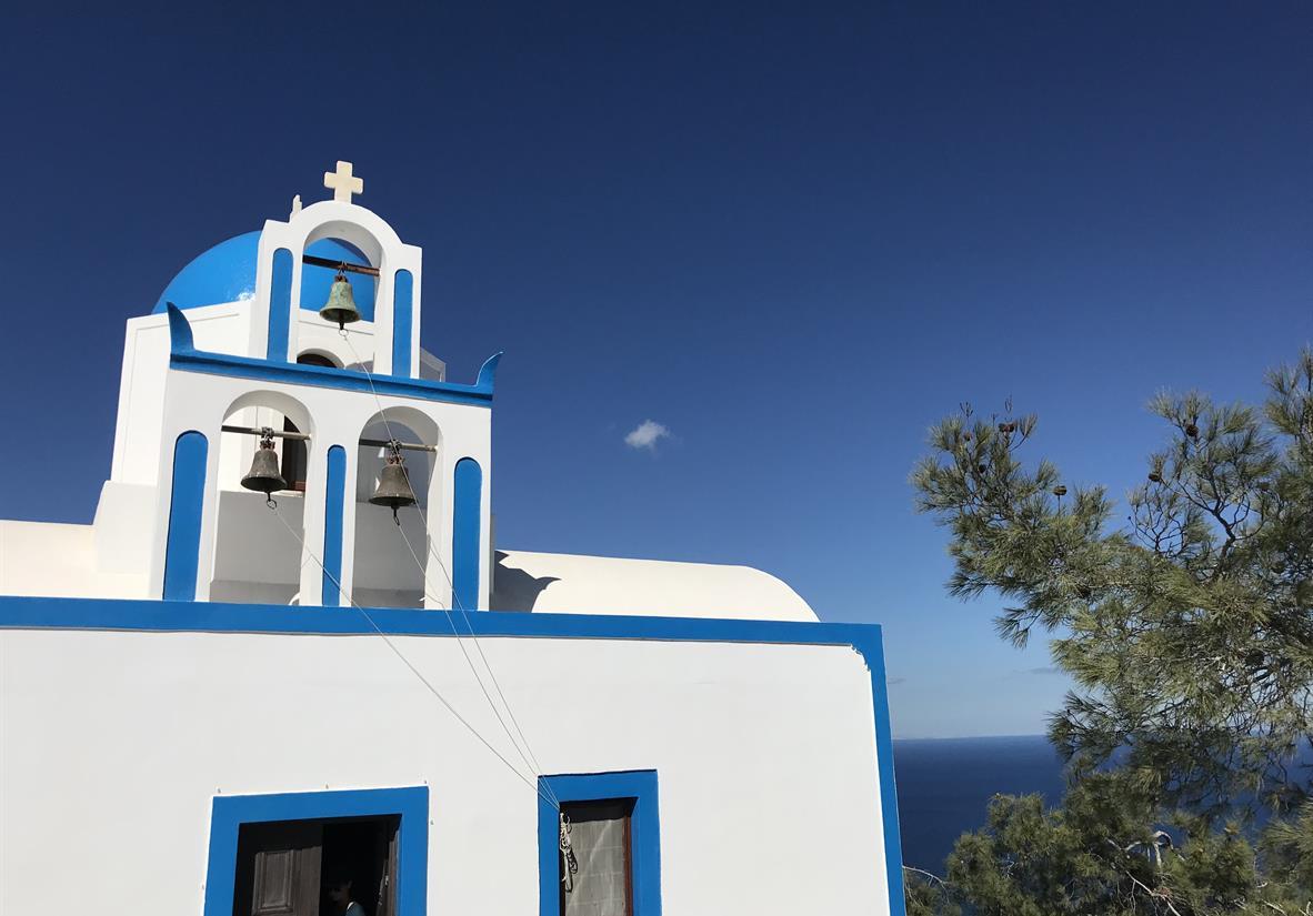 Island Hopping Naxos Santorini Self Guided Walking Tour