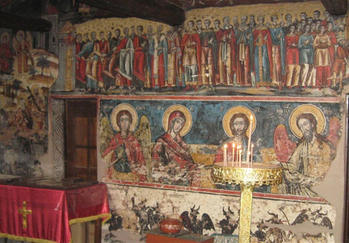Church in Milies