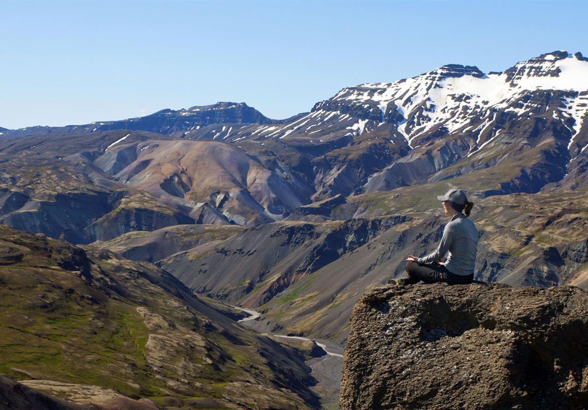Explore Iceland's remote volcanic vistas
