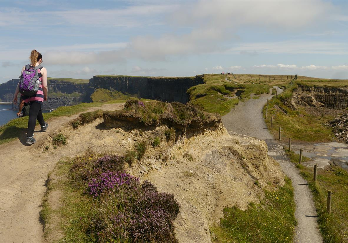 Walk the Cliffs of Moher