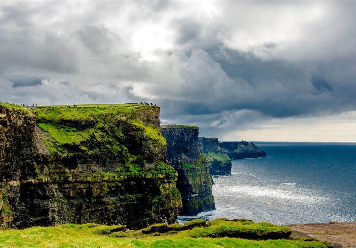 Die atemberaubenden Cliffs of Moher