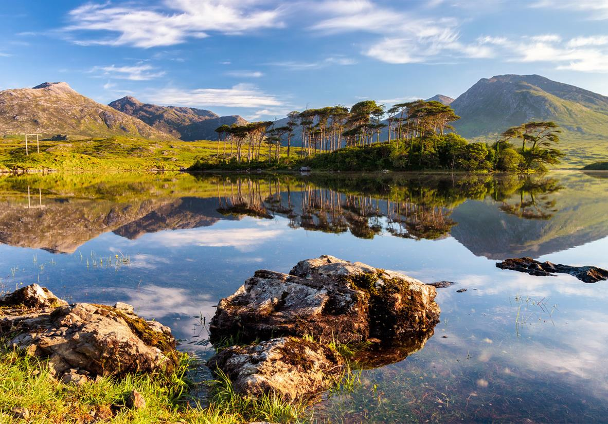 Lochs aplenty in Connemara