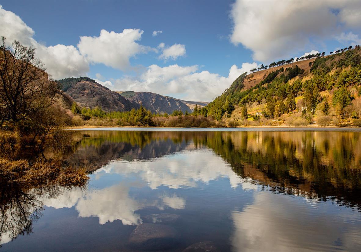 Das Herz des Tals von Glendalough