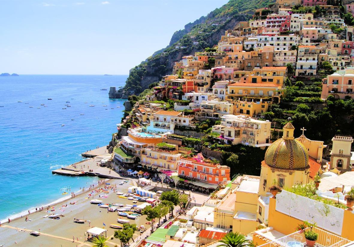 """Positano, the """"Pearl of the Amalfi Coast"""""""