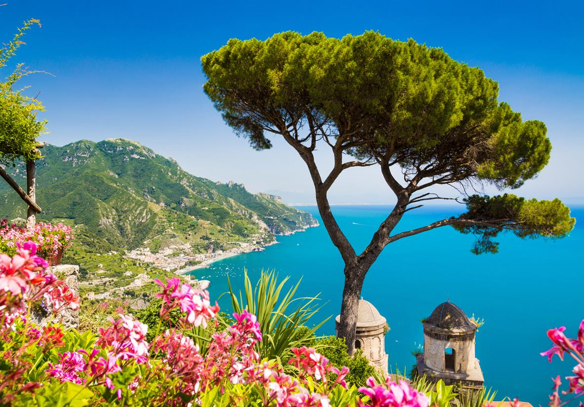 Turquoise blue Mediterranean Sea