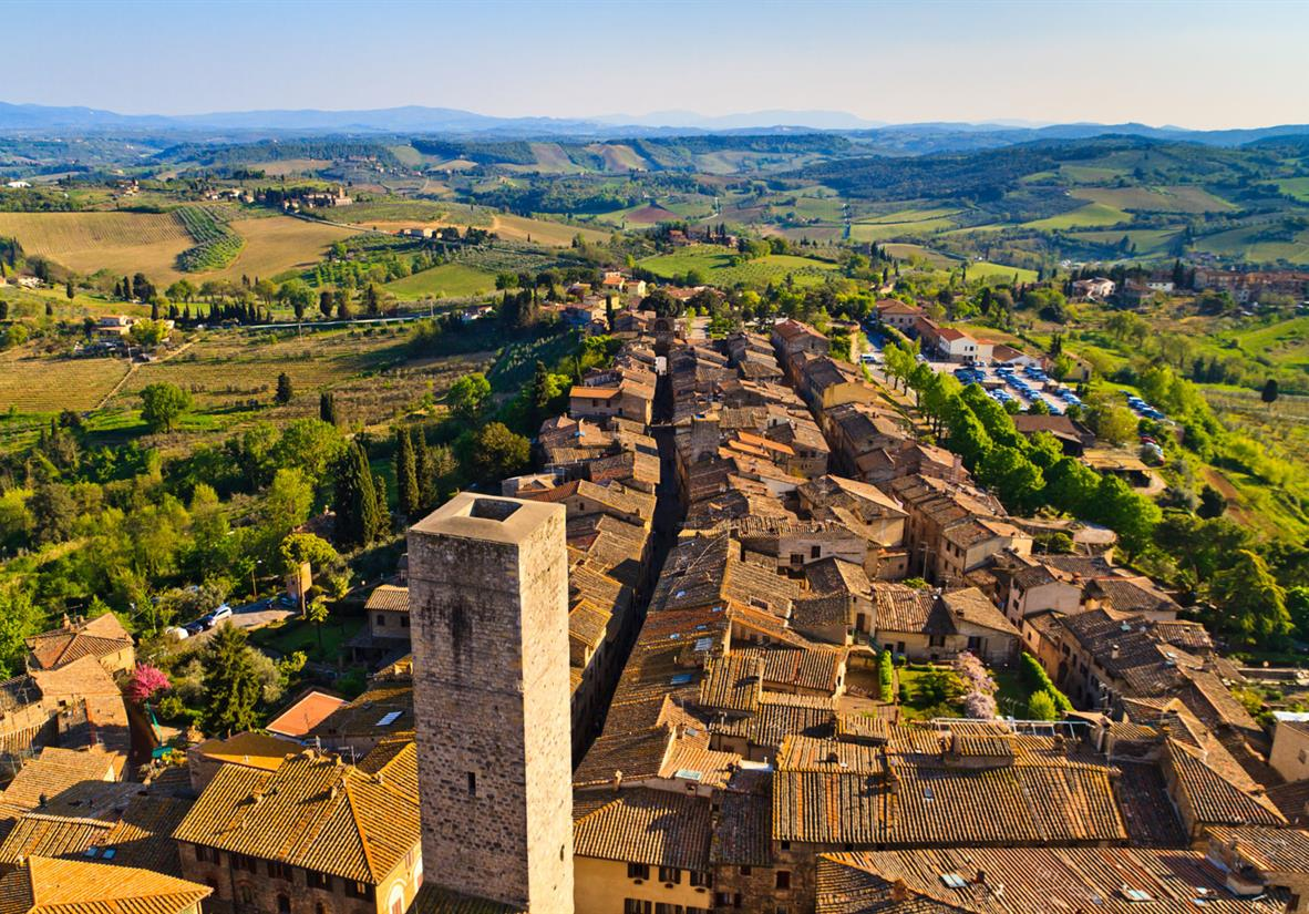 San Gimignano and its famous towers