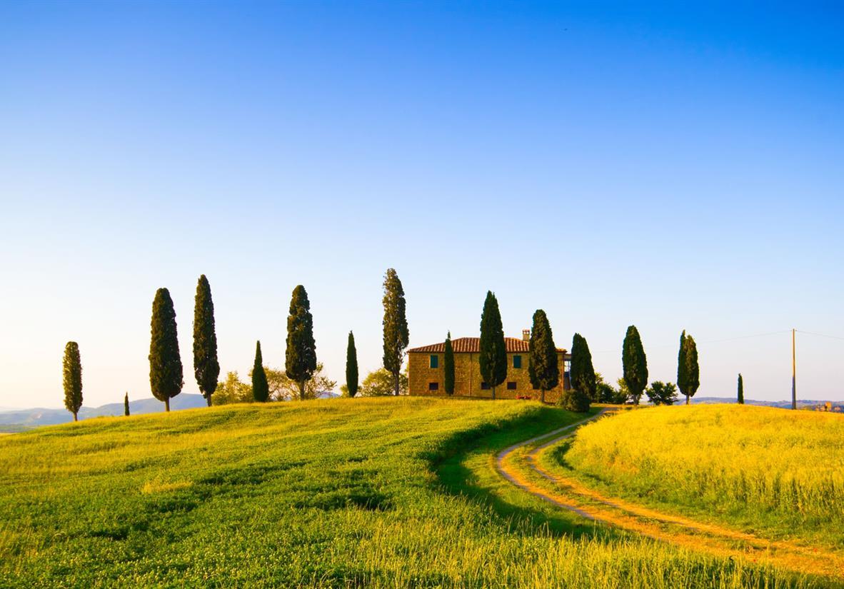 Die klassische Toskana