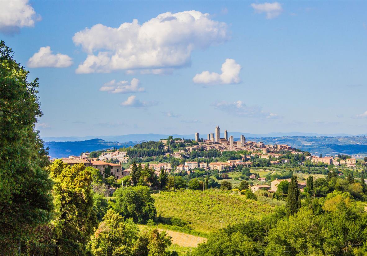 Idyllisches San Gimignano