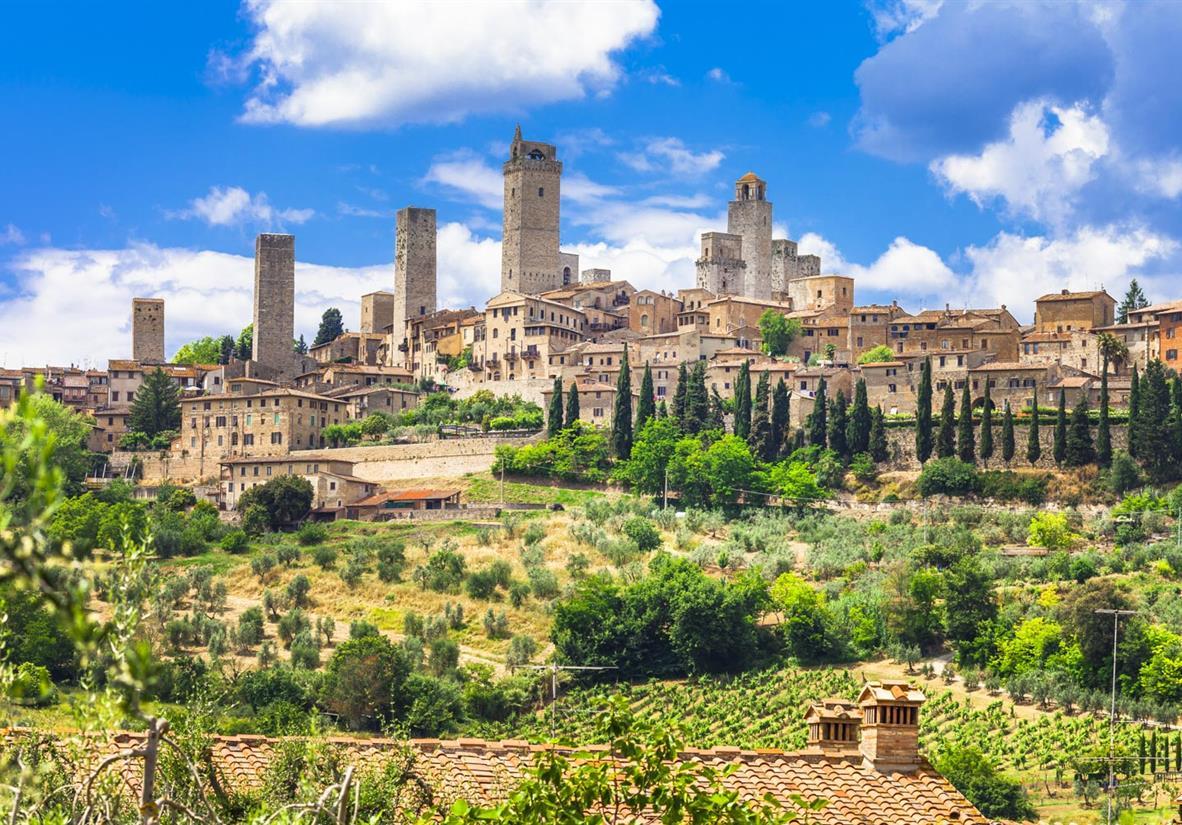 San Gimignano - Das Manhattan der Toskana