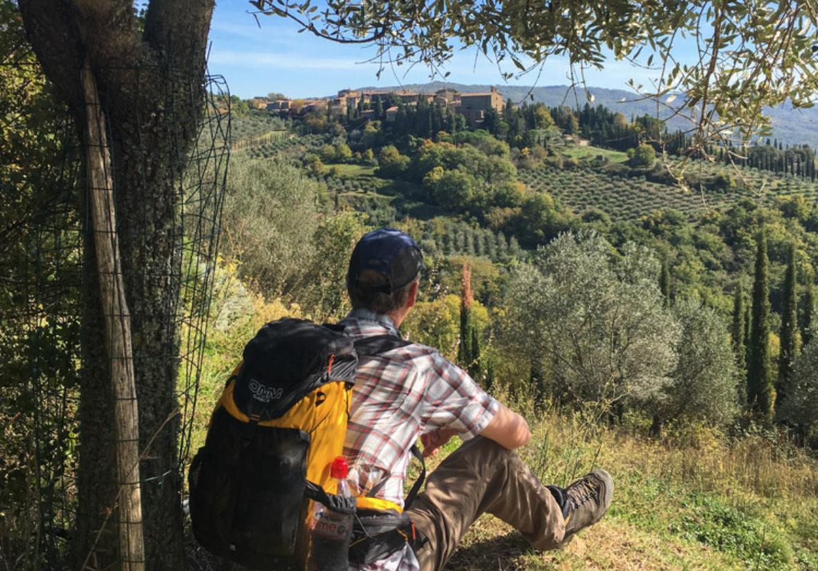 Fantastische Aussichten über die Toskana