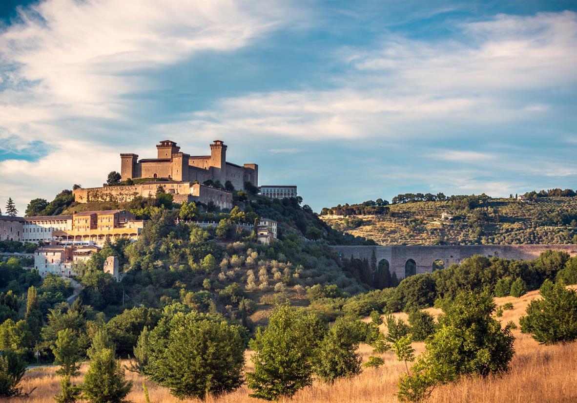 Spoleto's fortress