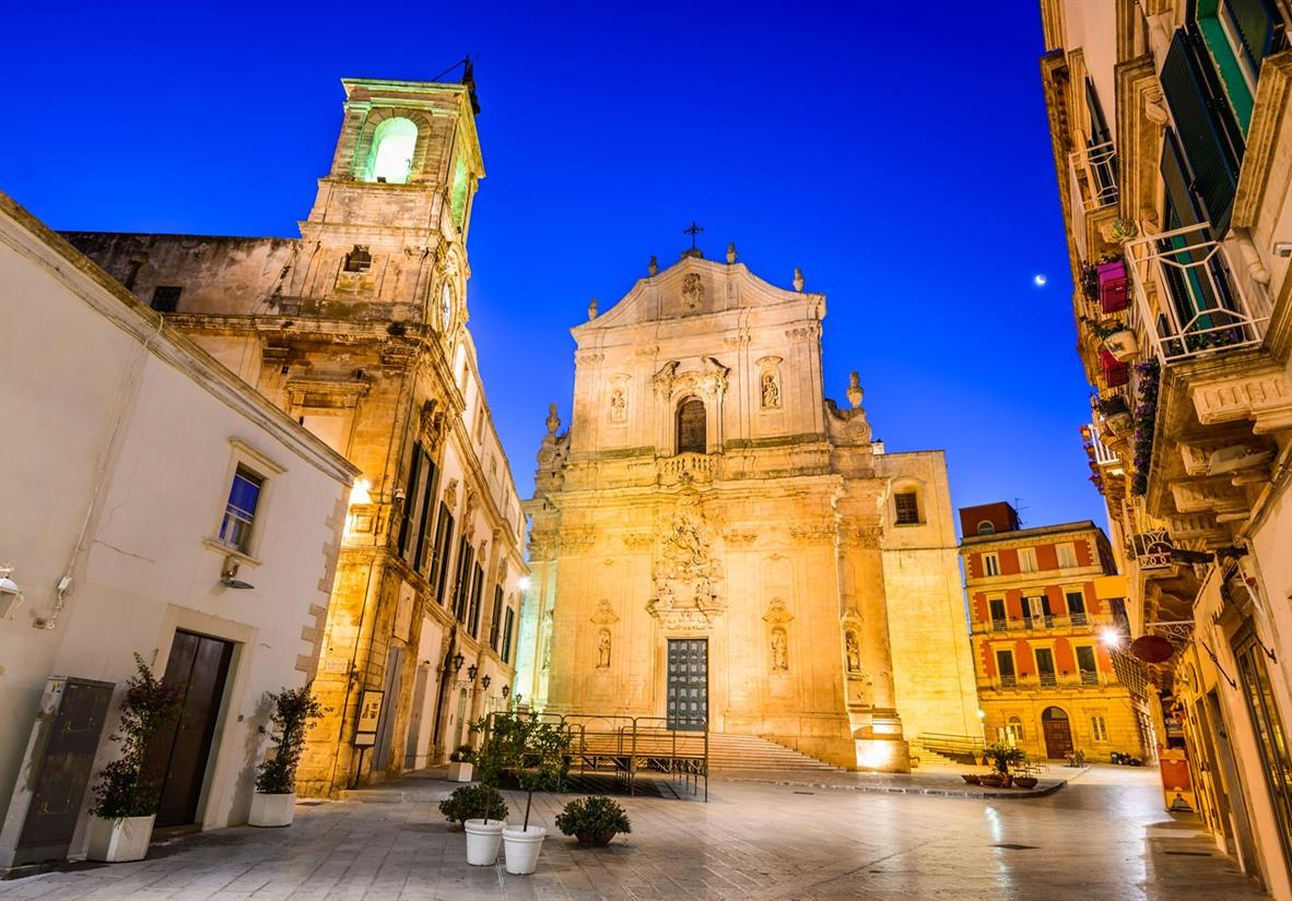 Beautiful Baroque architecture of Martina Franca