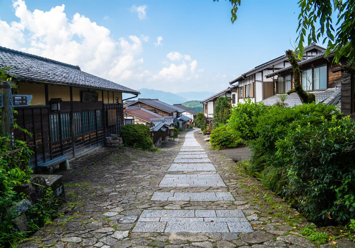 Walk through traditional Japanese villages