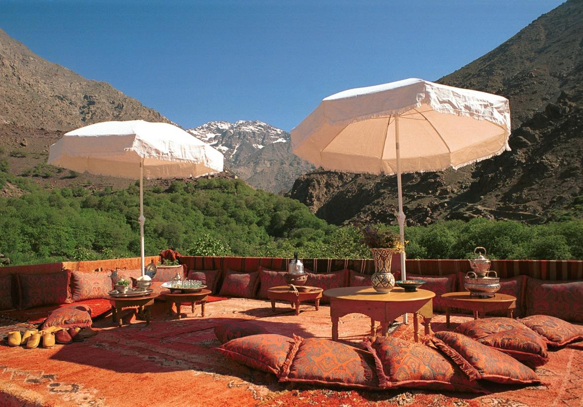 Enjoy a short break in Morocco in style
