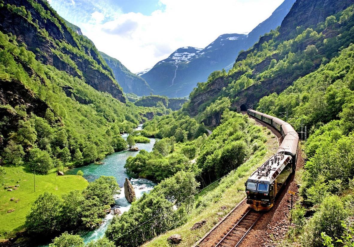 Von Oslo nach Bergen Rail & Hike © Flåm Utvikli