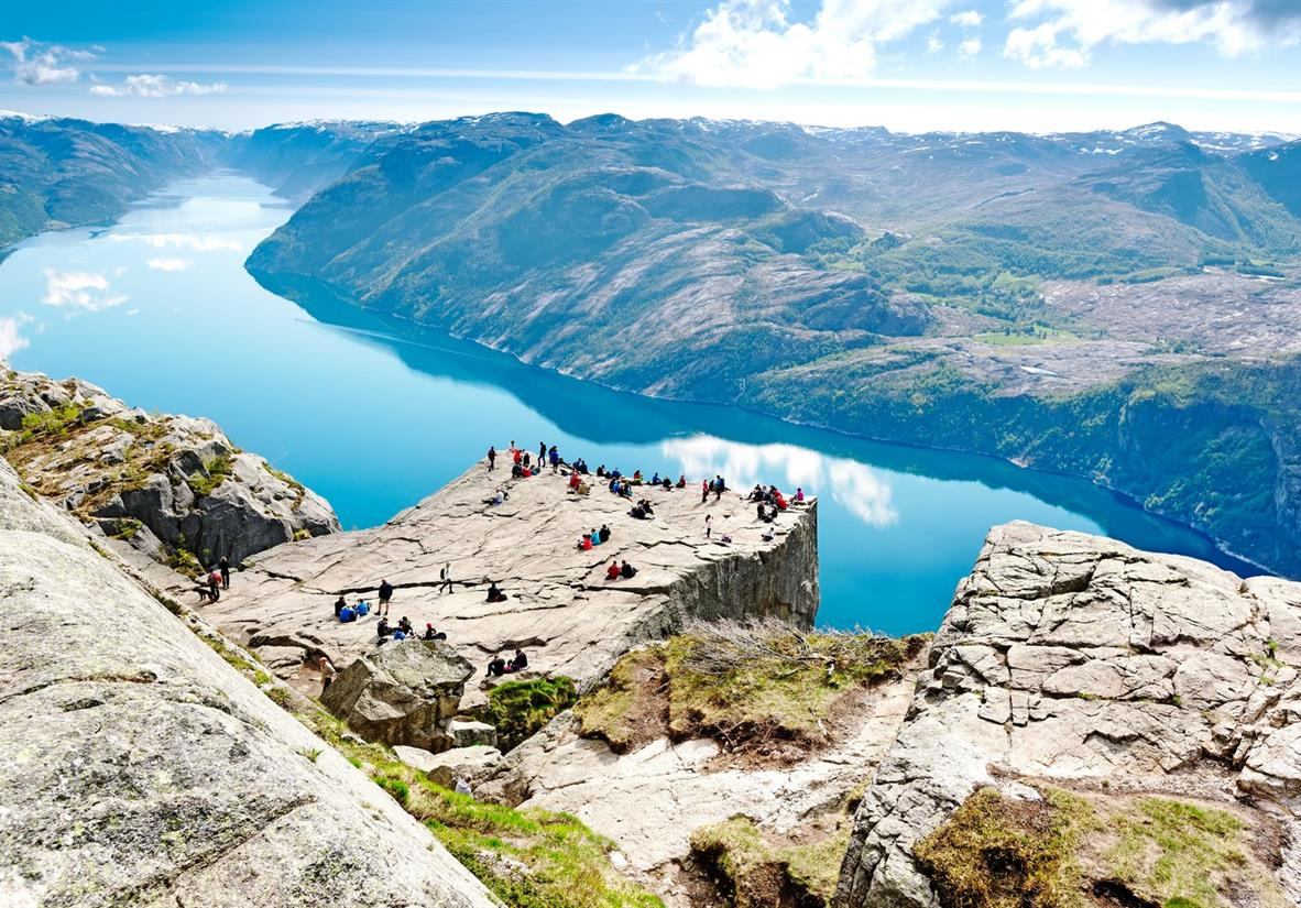 Stavanger to Bergen Drive & Hike Holiday