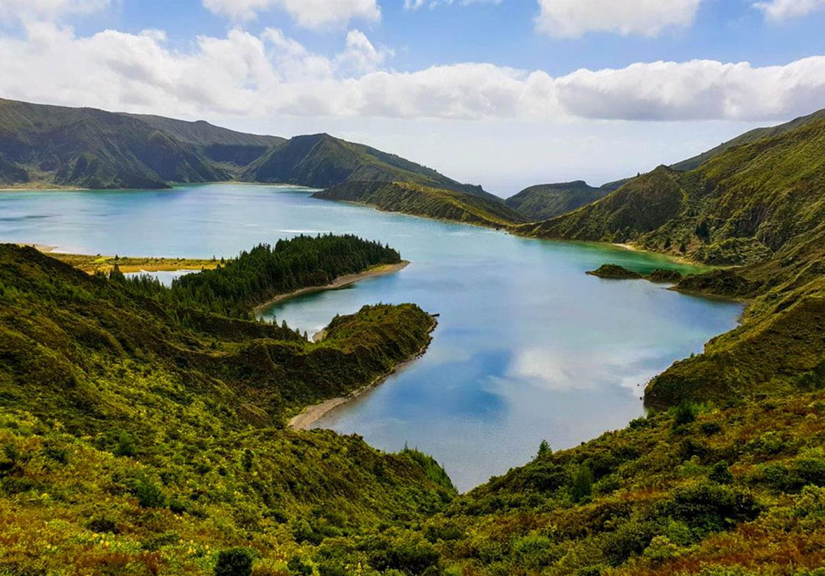 Majestic landscapes of the Azores