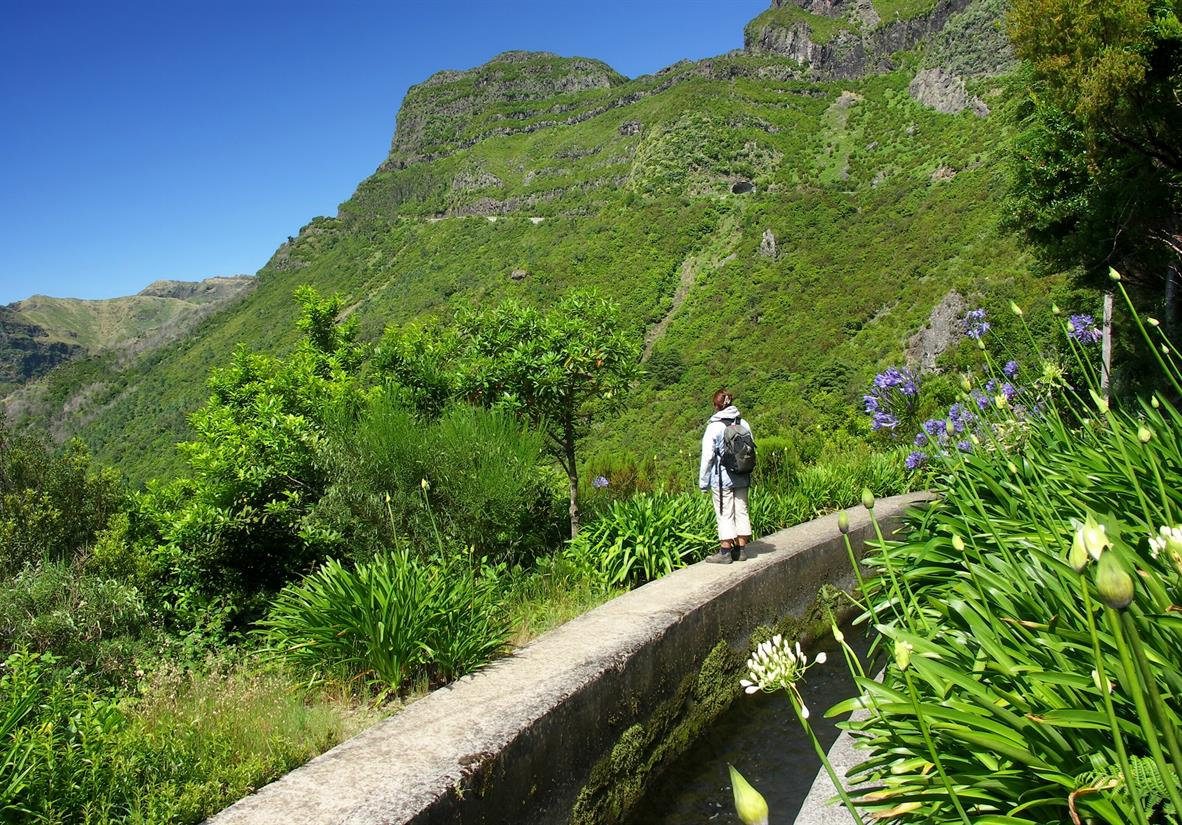 Self guided walking in Madeira - the Flower Island