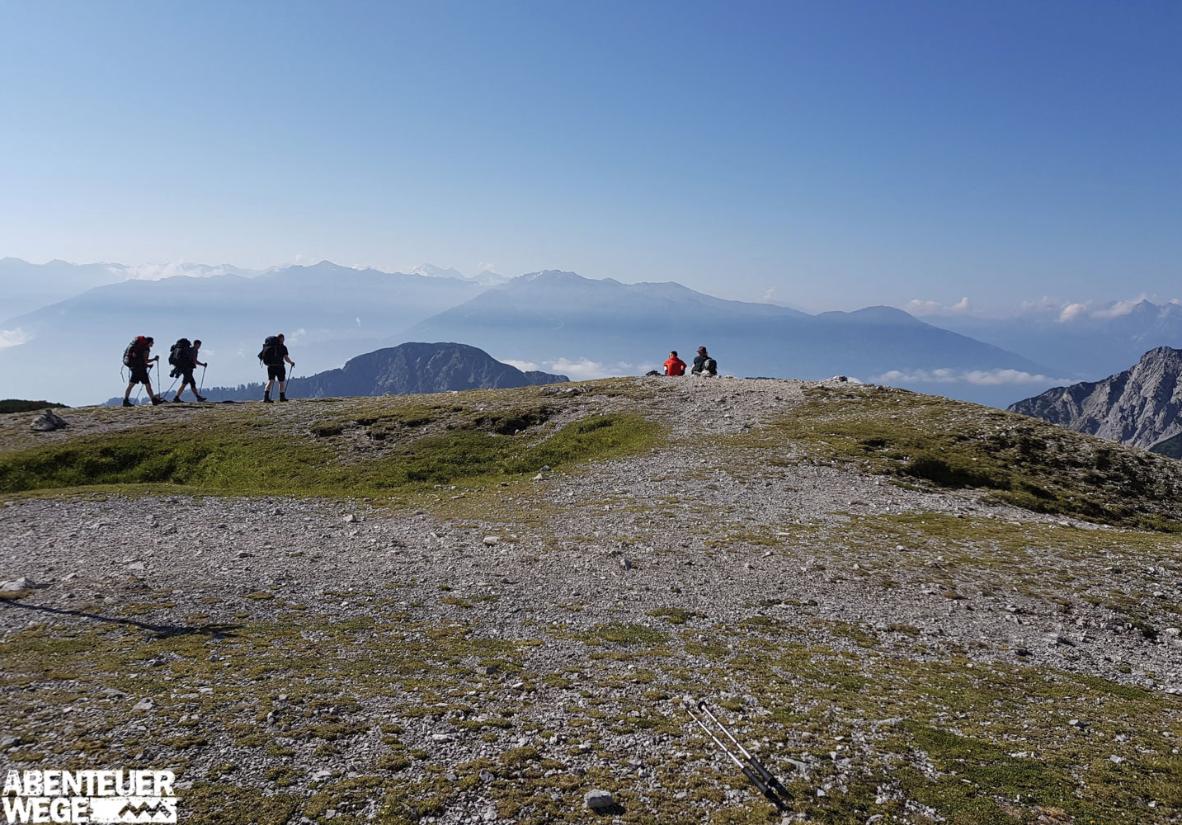 Garmisch-Sterzing-Alpenüberquerung