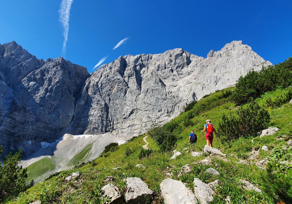 Von der Eng Alm zum Karwendelhaus