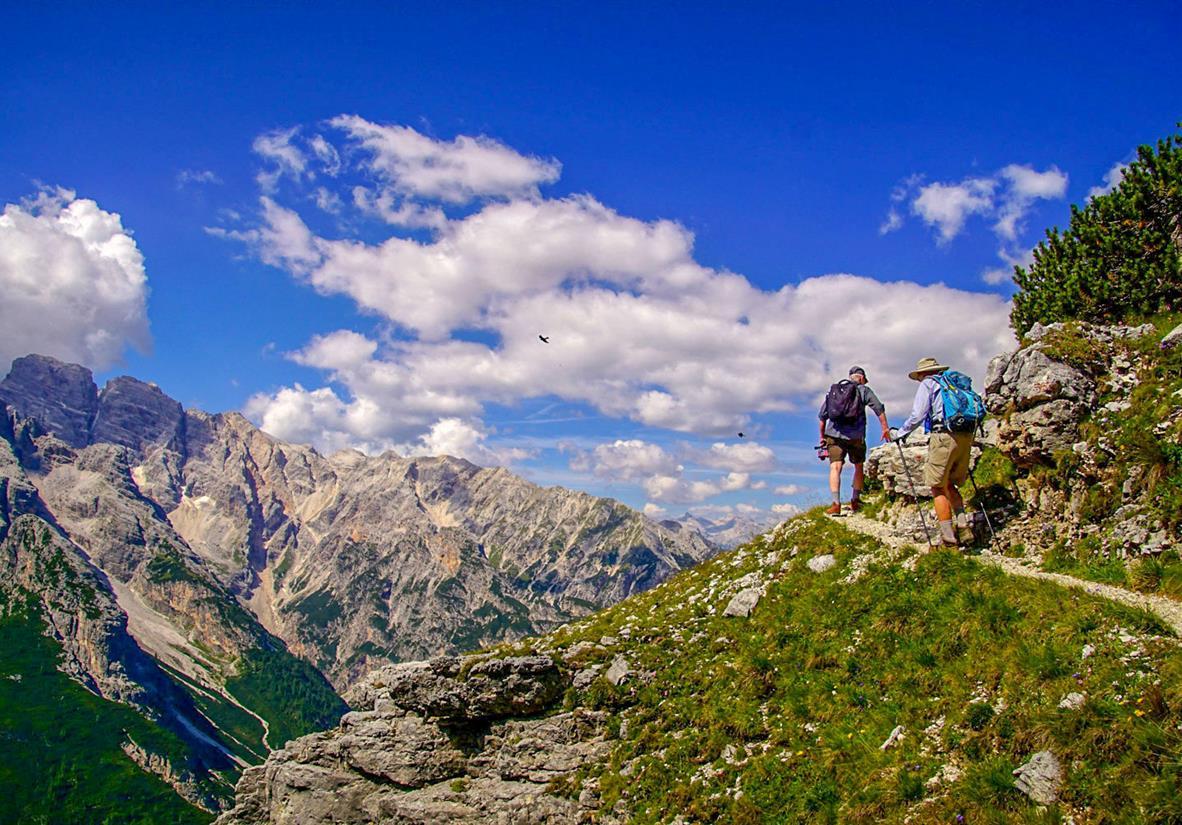 Höhenwege mit Panoramaaussichten