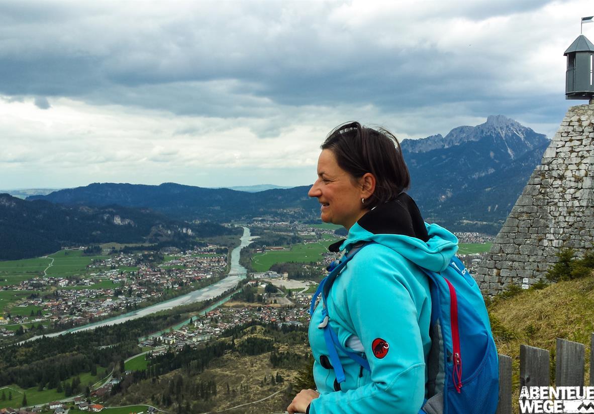 Blick von der Burgruine Ehrenberg