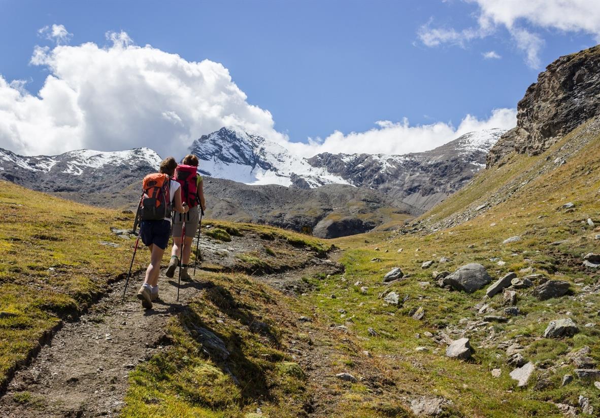 Gran Paradiso to Mont Blanc