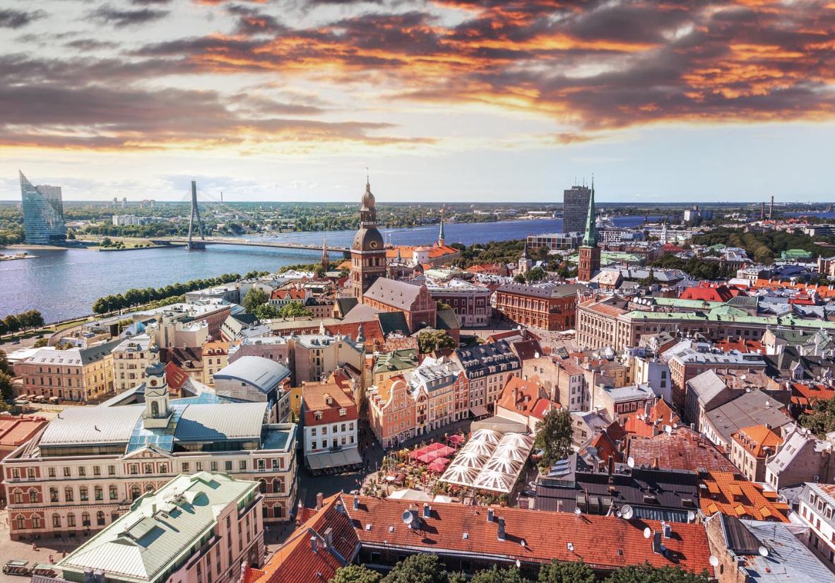 Alle drei baltischen Länder auf einer Reise