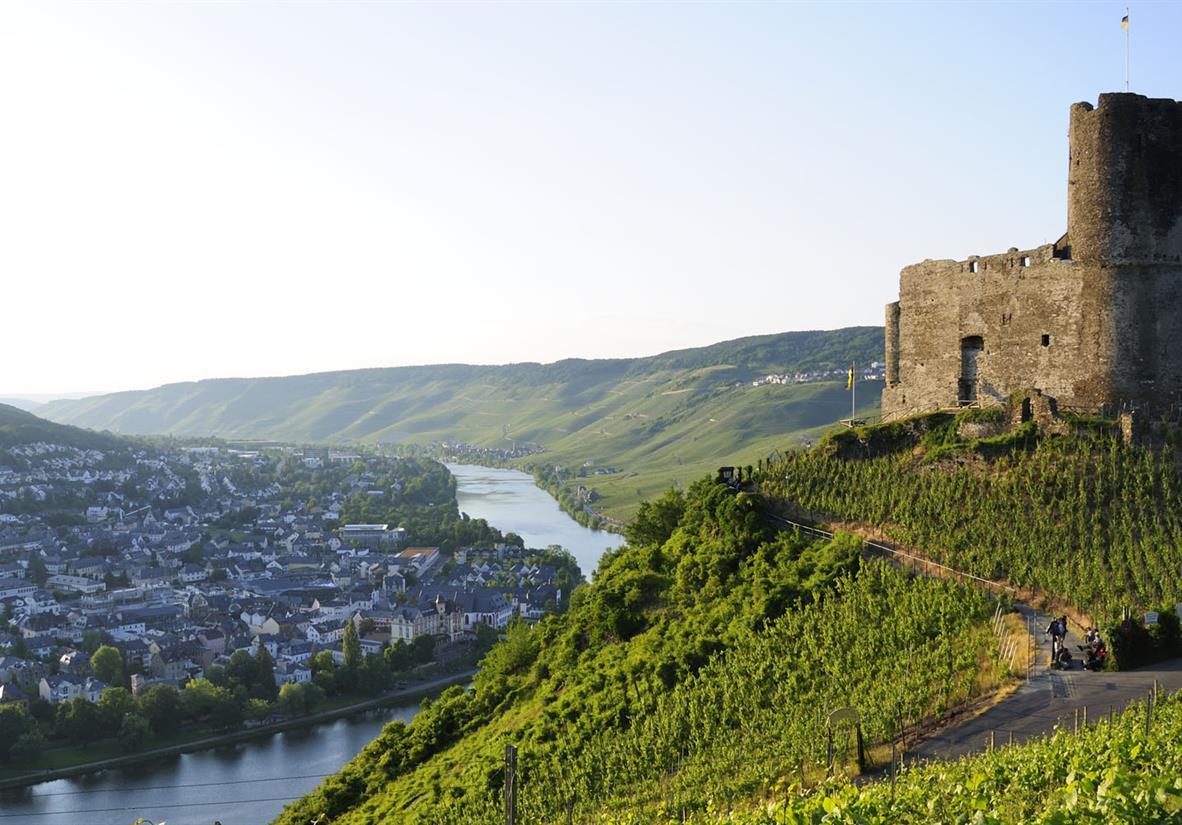 Der Moselsteig von Trier nach Bernkastel-Kues