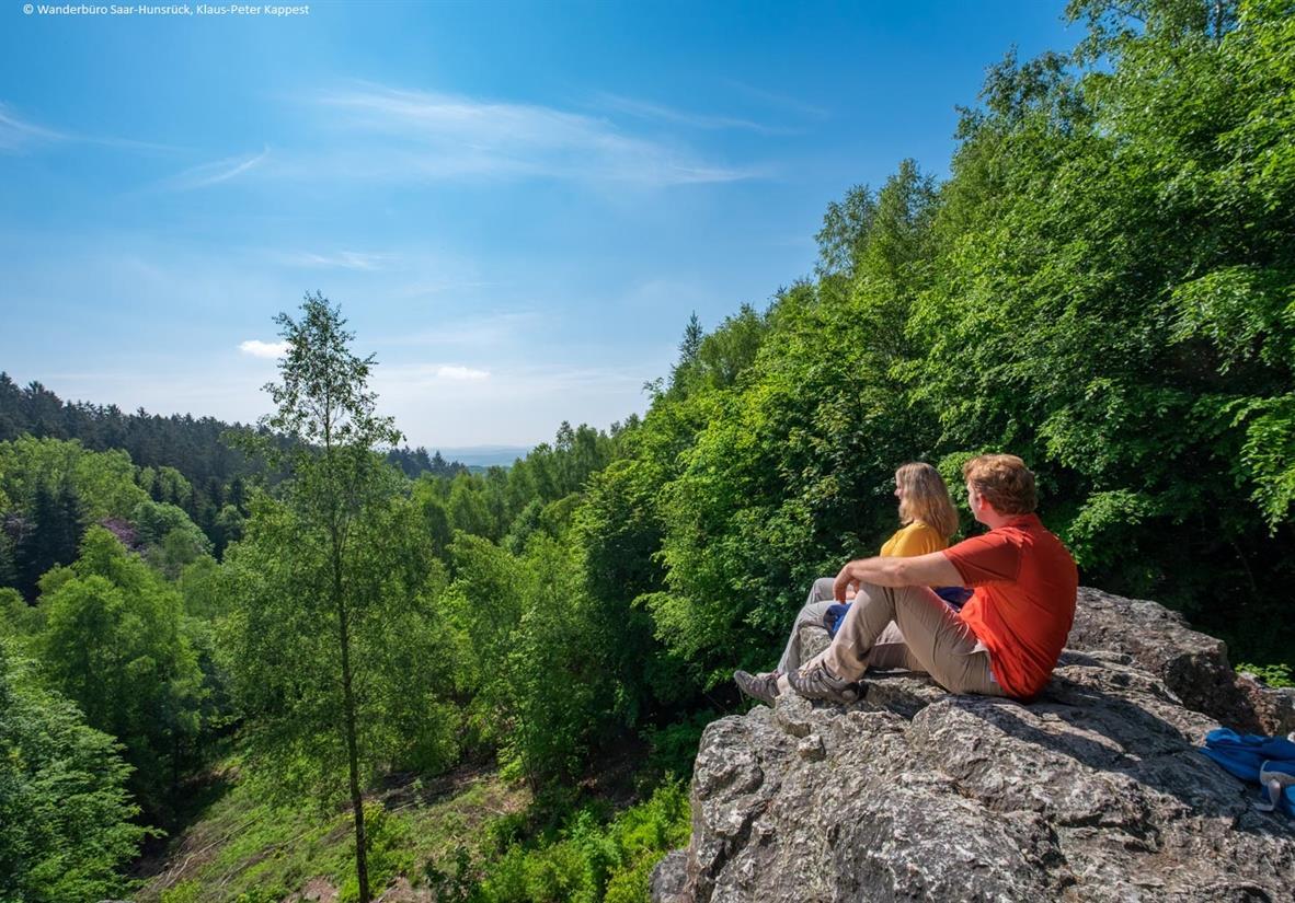Auf dem Losheimer Felsenpfad