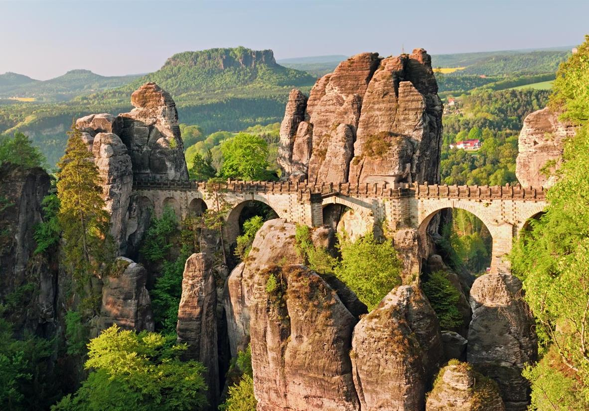 Die Bastei auf dem Malerweg