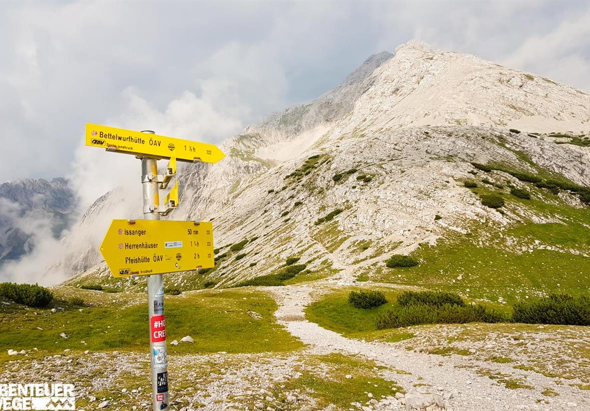 Karwendel-Garmisch-Innsbruck-Am Lafatscherjoch