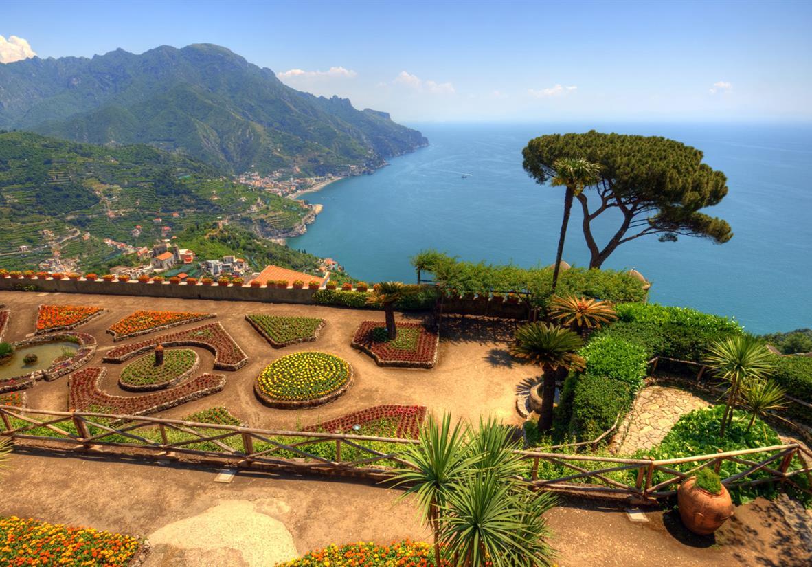 Visit Ravello's stunning gardens