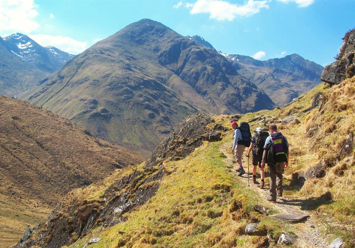 Highland Trekking der besonderen Art