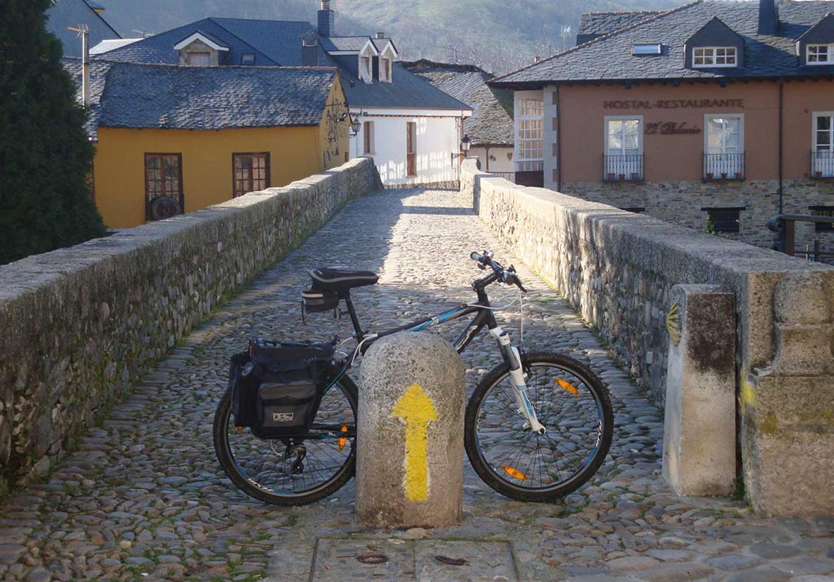 Der Jakobsweg auf 2 Rädern