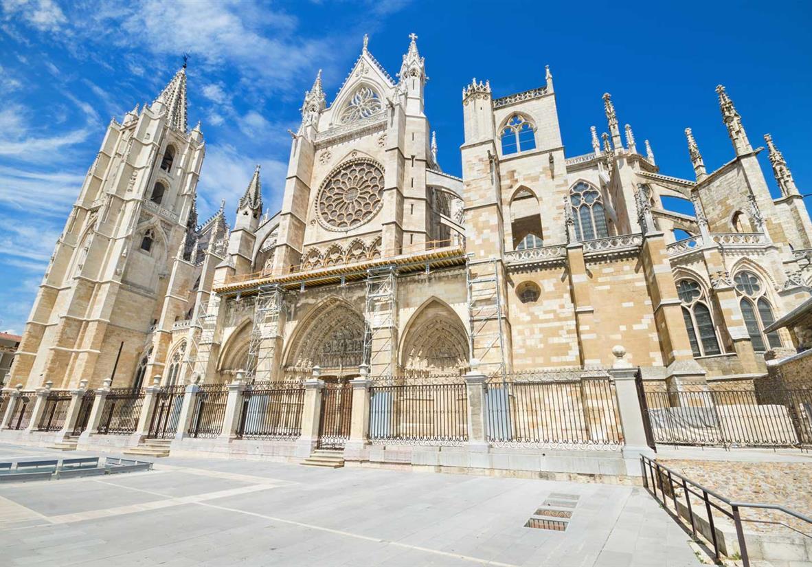 Die Kathedrale von Leon