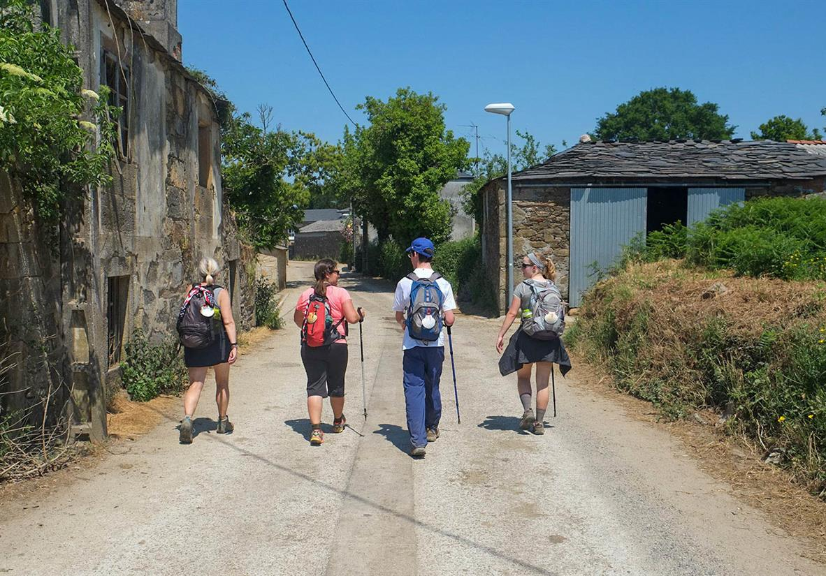 Camino Frances is perfect for groups