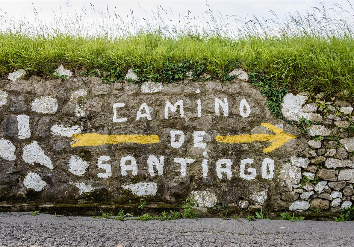 Custom camino signage always keeps you on track