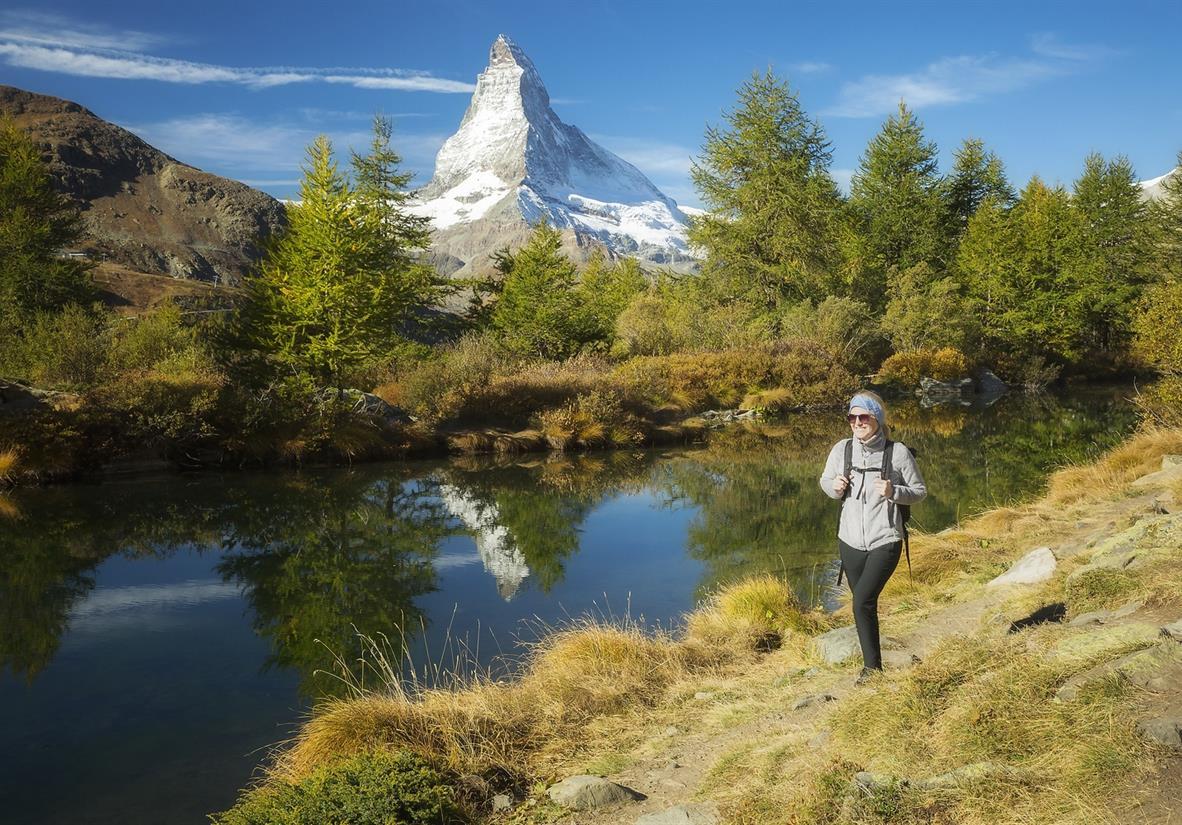 Grindjisee and the Matterhorn