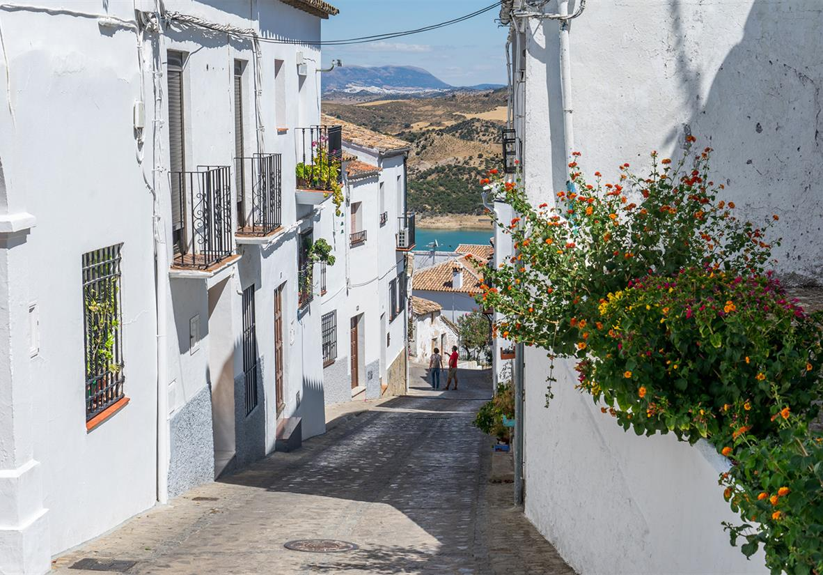 The whitewashed streets of Andalucia