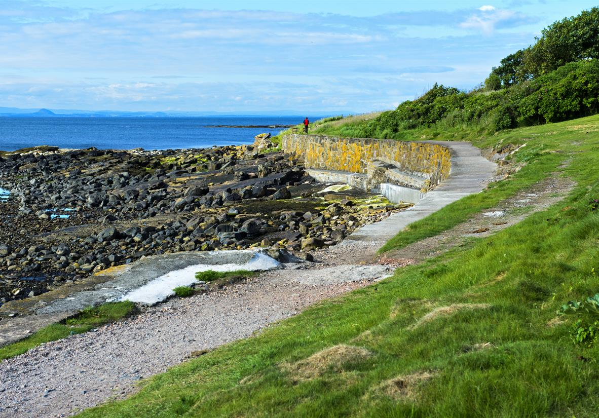 The coastal path near East Neuk