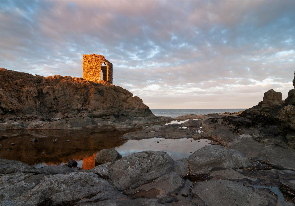 Ladys Tower near Elie
