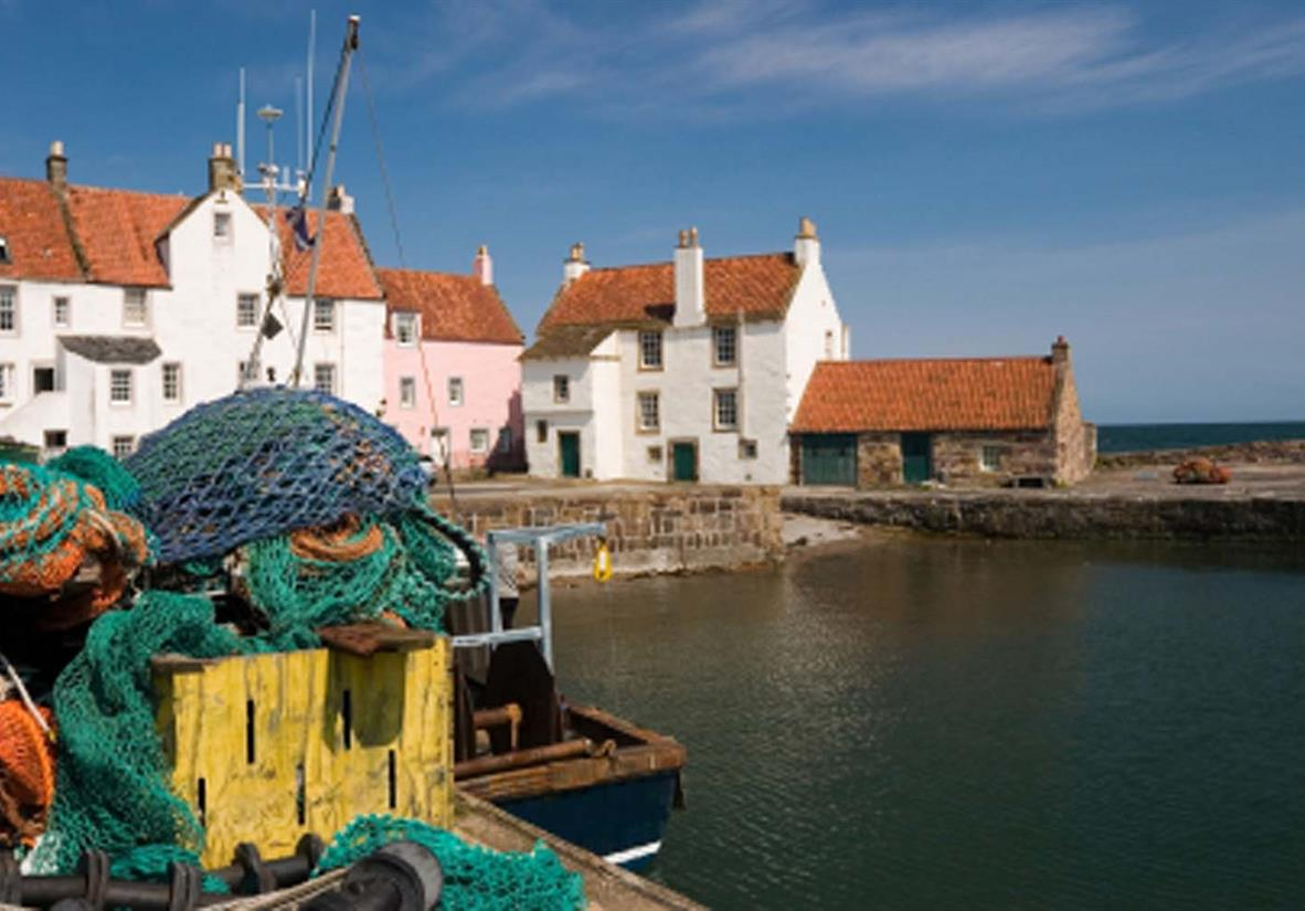 Fife's colourful harbours