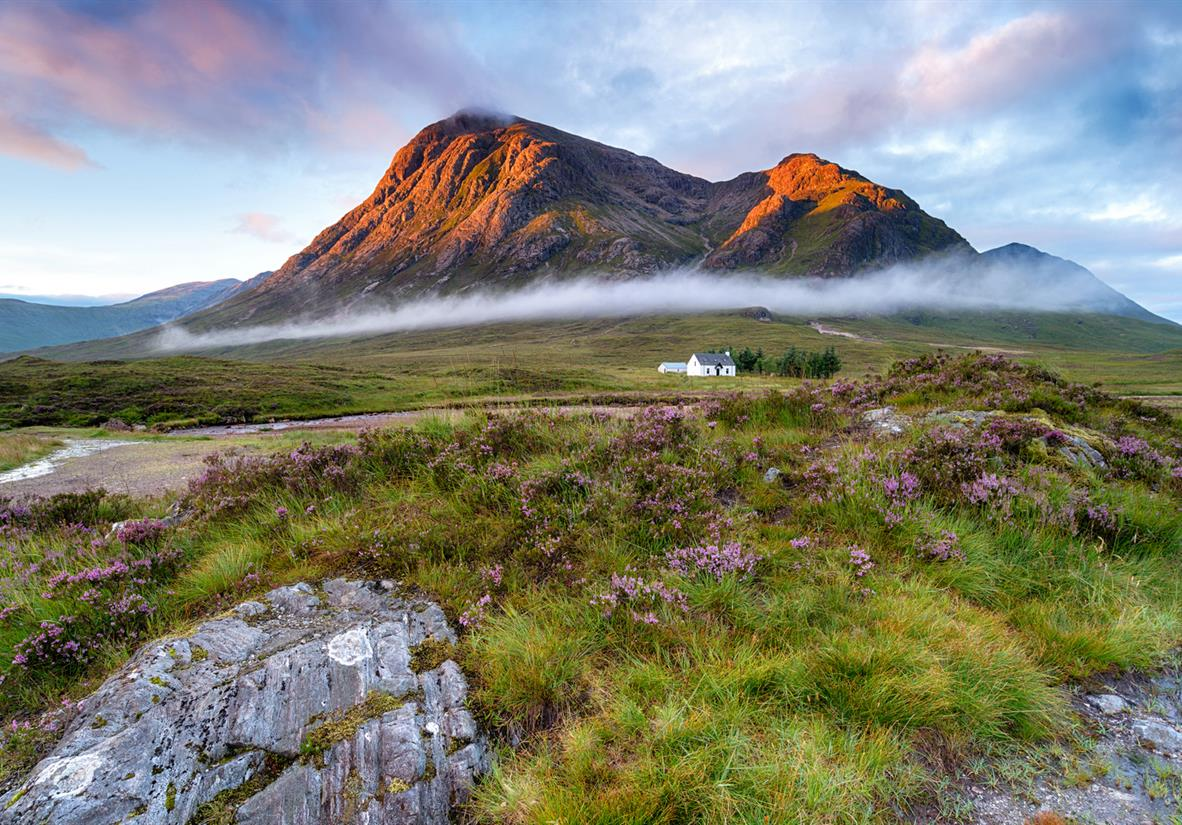 Drive through iconic Glencoe