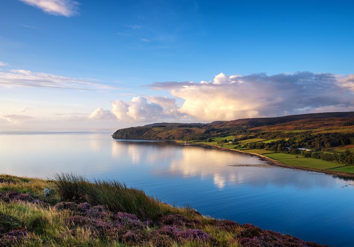 Loch Campbelton from Davaar Island