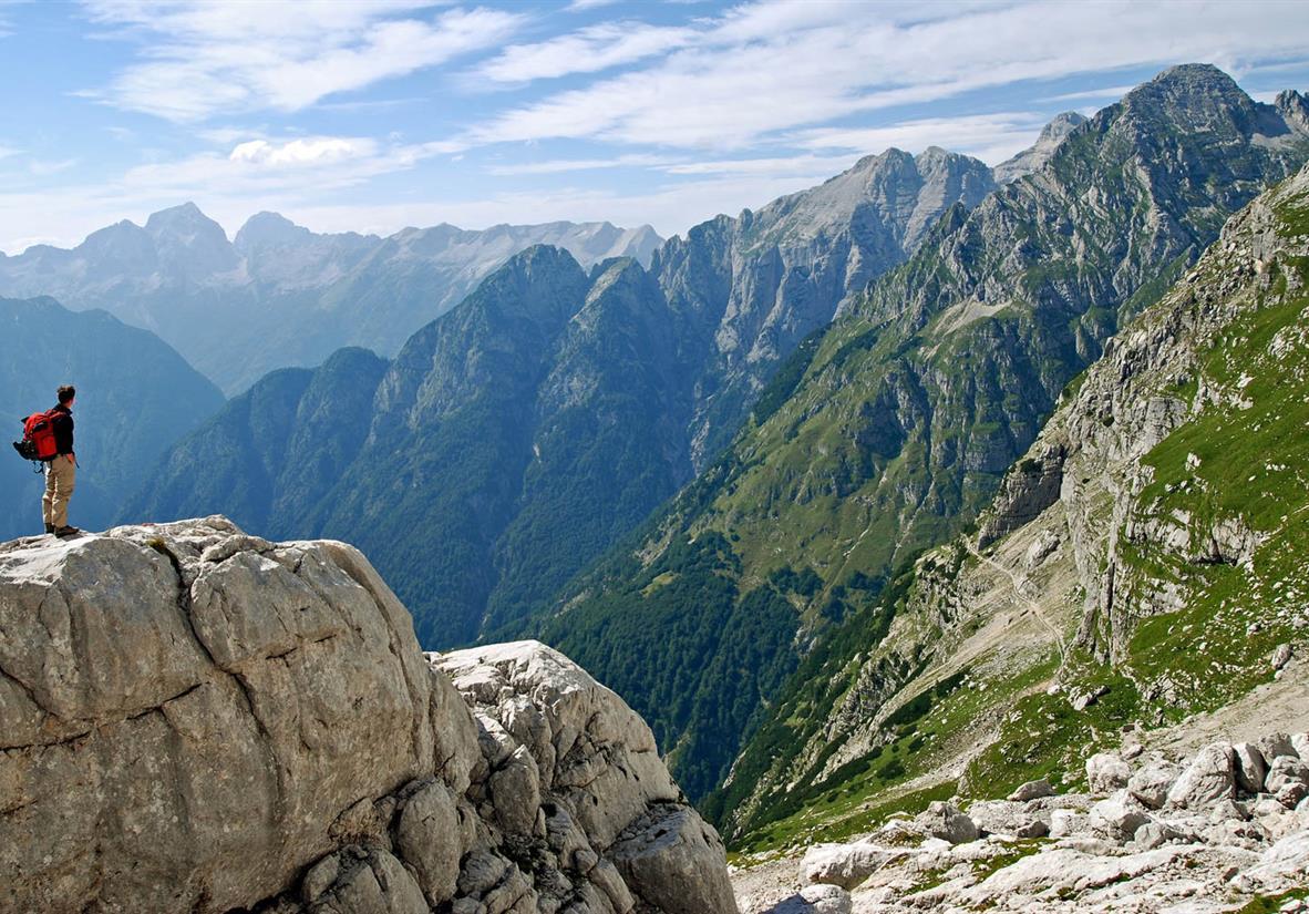 Höhenwanderung Julische Alpen